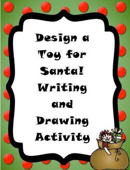 Christmas: Design a Toy for Santa!