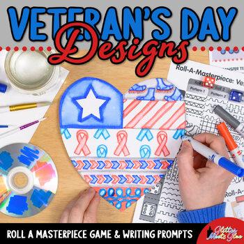 Design a Veteran's Day Heart Game - Bulletin Board Ideas -