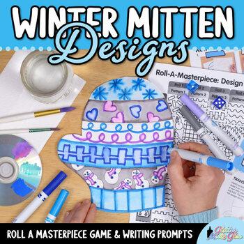 Design a Winter Mitten Game - Bulletin Board Ideas - Art S
