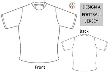 Design a football jersey template