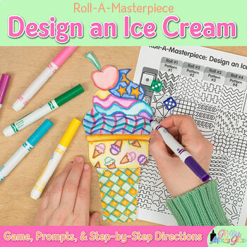 Design an Ice Cream Game {Summer Activities and Art Sub Pl