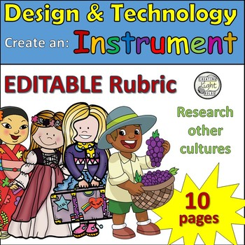 Design and Technology Construct an Instrument & Research D