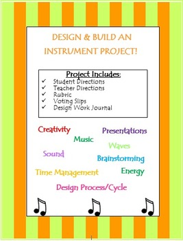 Designing an Instrument Project Activity (Waves & Sound)