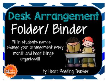 Desk Arrangement Folder