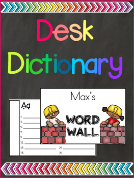 Desk Dictionary {Freebie}