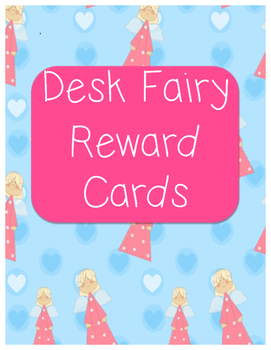 Desk Fairy Reward Cards