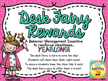 Desk Fairy Rewards (23 Yearlong Certificates)