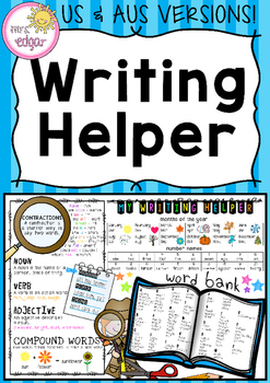 Writing Helper: Grade 2