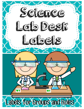 Desk Labels for Collaborative Learning in Science Labs or