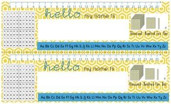 Desk Name Plates (Legal Size)