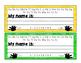 Desk Name Plates - Rainbow Theme