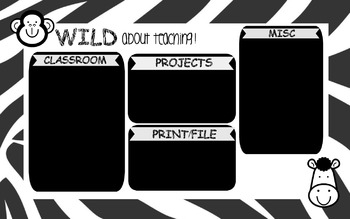 Desktop Background Organizer (Safari/Jungle Theme)