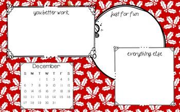Desktop Backgrounds ~ December FREEBIE