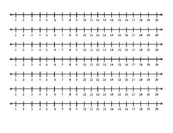Desktop Number line