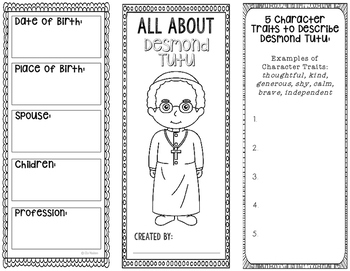 Desmond Tutu - Human Rights Activist Biography Research Project
