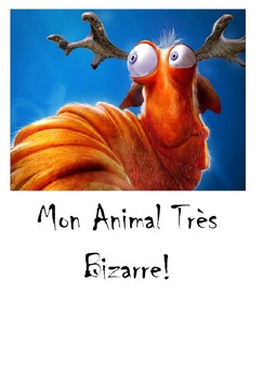 French animals, body parts and colors - Dessine un animal