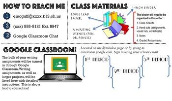 Detailed Class Syllabus