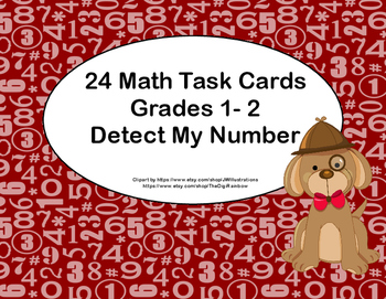 Detect My Number-Grades 1-2-Using Clues < and >