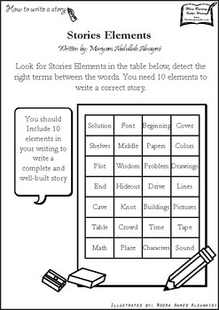 Detect Story elements - How to write a story series