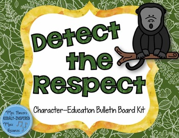 Detect the Respect: Rainforest-Themed Character Education