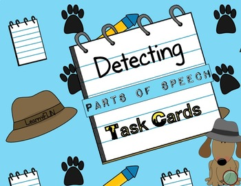 Detecting Parts of Speech TaskCards
