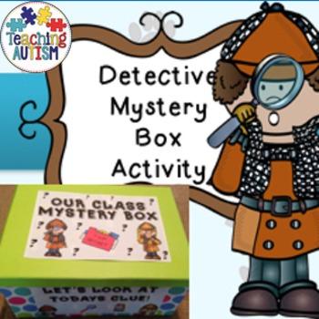 Detective Activity, Mystery Box, Classroom Fun