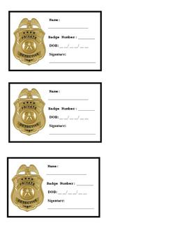 Detective Badge