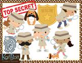 Detective Clip Art