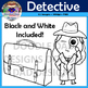 Detective Clip Art (Spy, Sherlock Holmes, Disguise, Magnif