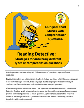 Detective Reading:Detecting Different Types of Comprehensi