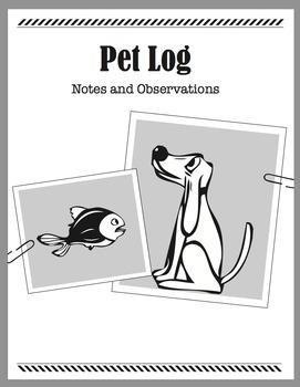 Detective Theme: Message Journal (Pet, Travel, Adventure,