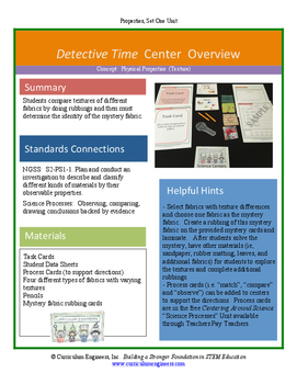 Detective Time Science Center