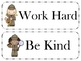 Detective classroom rules posters