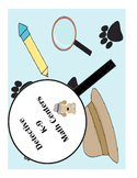 Detective dogs math centers