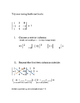 Determinants of 2x2 and 3x3 matrices