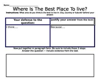 Determine Your Defense Worksheet