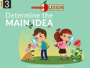 Determine the Main Idea