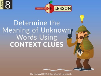 Determine the Meaning of Words using Context Clues