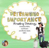 Determining Importance Reading Comprehension Strategy PPt