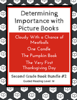 Determining Importance with Picture Books (Second Grade Su