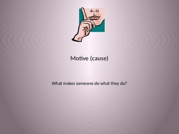 Determining Motive