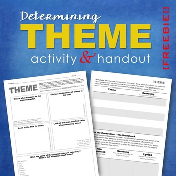 Determining Theme: FREE Activity & Handout