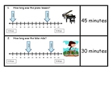 Determining Time Intervals Using a Number Line