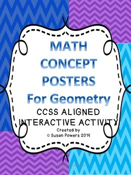 Develop Math Thinkers - Math Concept Assessment Posters fo