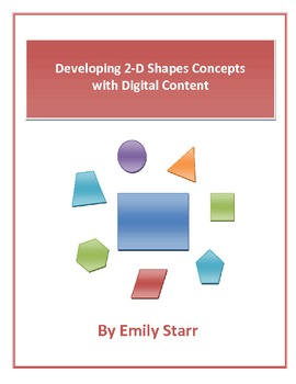 Developing 2D Shapes Concepts with Digital Content