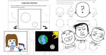 Developing Creativity Worksheet