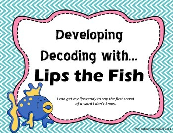 Developing Decoding with Lips the Fish