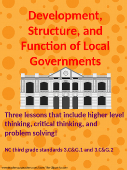 Development, Structure, and Function of Local Government