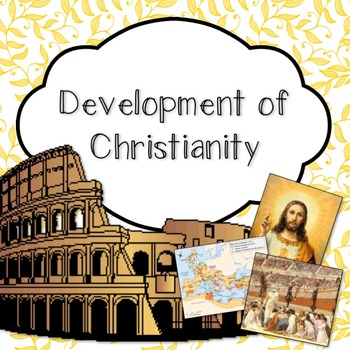 Development of Christianity PowerPoint