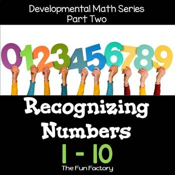 Developmental Math Skills {PK/K} - Recognizing Numbers